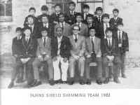 1983 Burns Shield Swimming Team.jpg (138576 bytes)